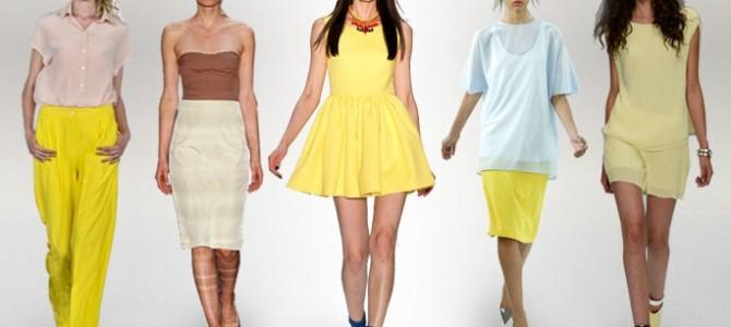 Mode Trends Frühjahr/Sommer2014